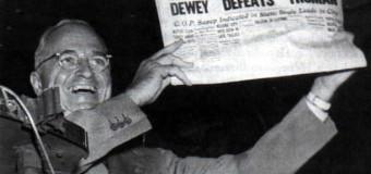Harry Truman. And the Train in American Politics