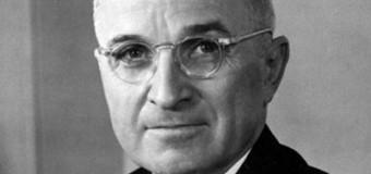 President Harry Truman Got It