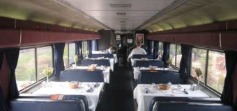 Dining in One of Amtrak's Rolling Restaurants