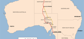 Darwin and Points South on The Ghan
