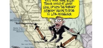 Who's Really Behind the Anti-Rail Campaign in California?
