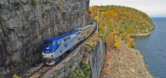 New York to Montreal Aboard Amtrak's Adirondack