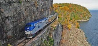 New York to Montreal Aboard Amtrak's Adirondack
