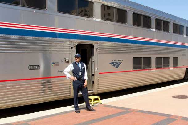 Want to Hear Some Crazy Stories? Talk to Any Amtrak Car Attendant.  TRAINS & TRAVEL WITH JIM LOOMIS