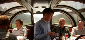 Traveling in Grand Style … Behind Amtrak in Some                 'Private Varnish'.