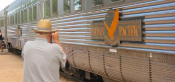 Criss-Crossing Australia on the Indian Pacific and the Ghan.
