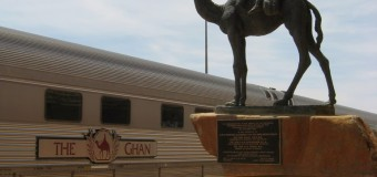 Crisscrossing Australia on the Indian Pacific and the Ghan.