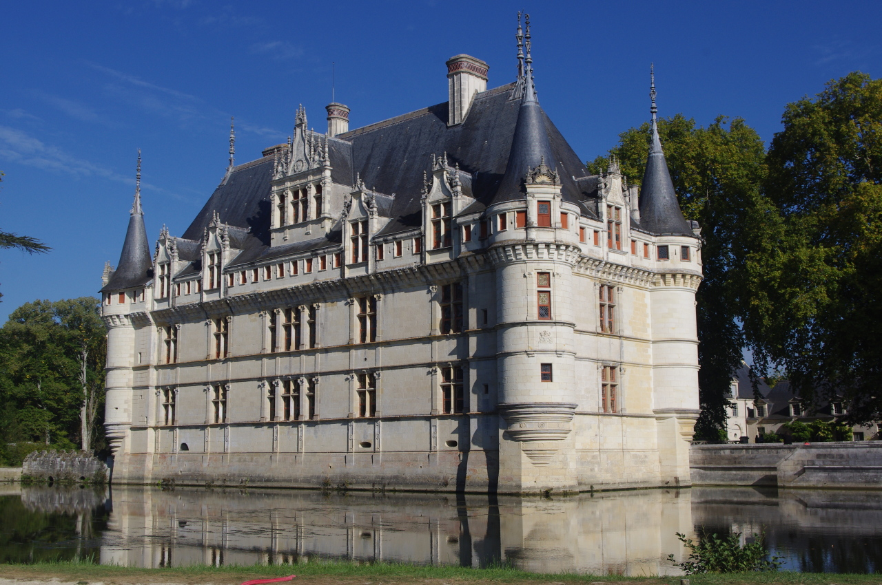 France Chateau at Azay-le-Rideau