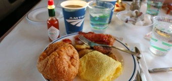 Are Amtrak Dining Cars Too Close to the Edge?