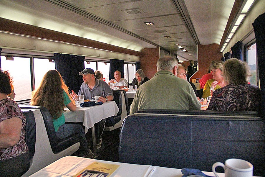 Some Do S And Don Ts For Amtrak Dining Cars Trains Travel With Jim Loomis