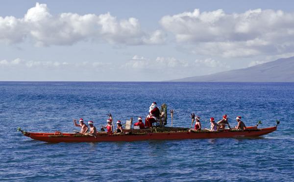 Santa-in-Kaanapali