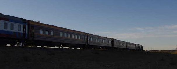 Dawn on the Gobi