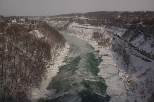 Niagara River Border