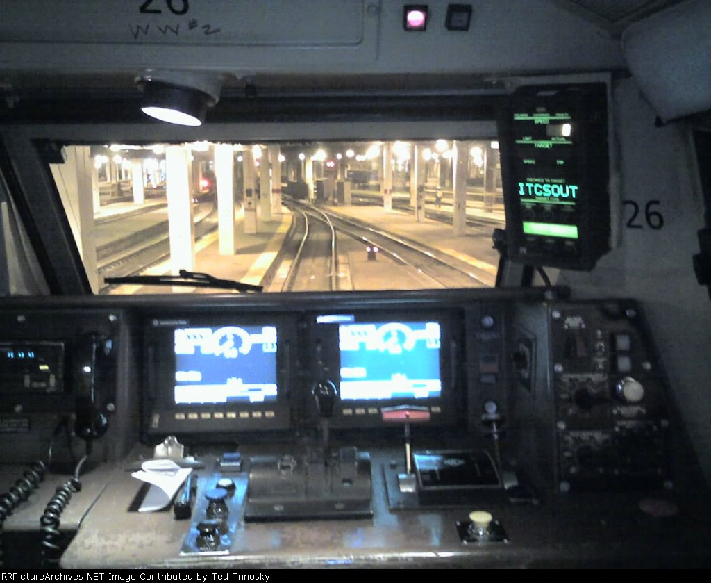 locomotive cab
