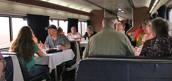 Amtrak's Interesting Dining Car Experiment.