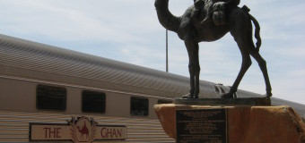 Darwin to Adelaide on The Ghan.
