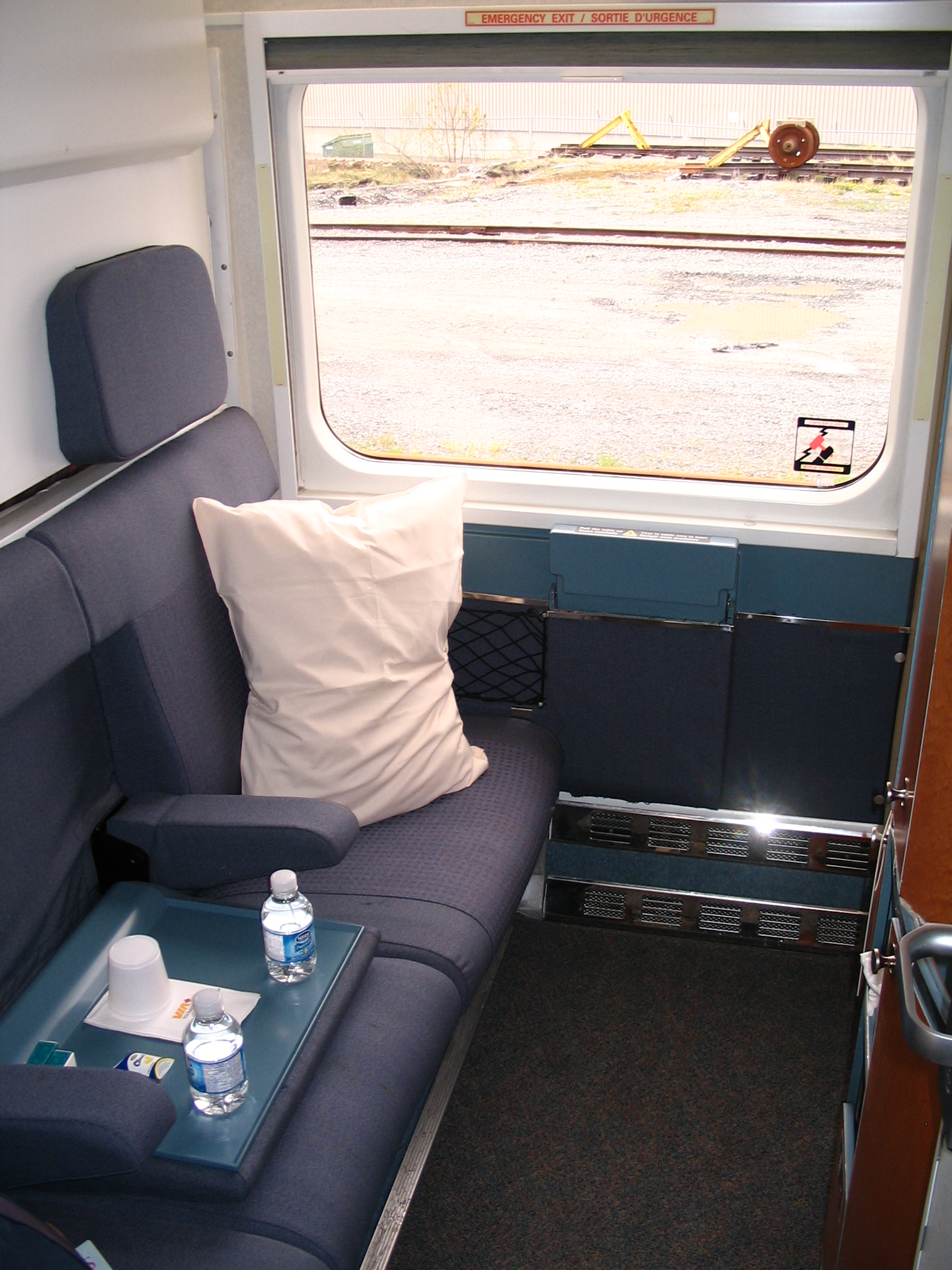 Via rail s renaissance equipment trains travel with Via rail canada cabin for 2