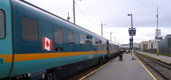 VIA Rail's Renaissance Equipment.