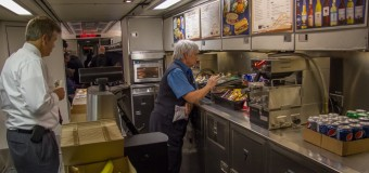 Survey of One on Amtrak's No Diner Experiment: Thumbs Down!