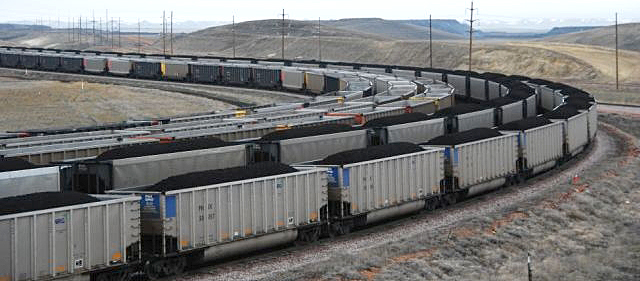 coal-trains