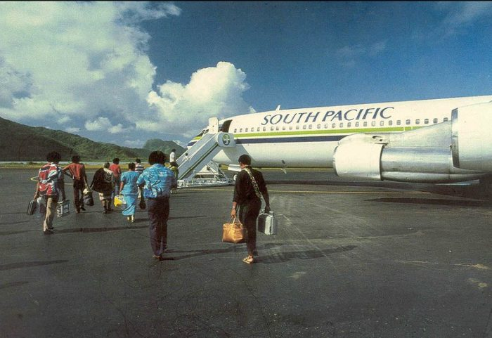 South Pacific-707