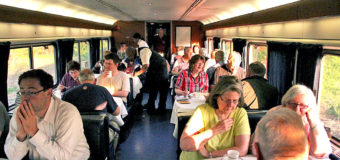 Repetitive Dining on Amtrak.