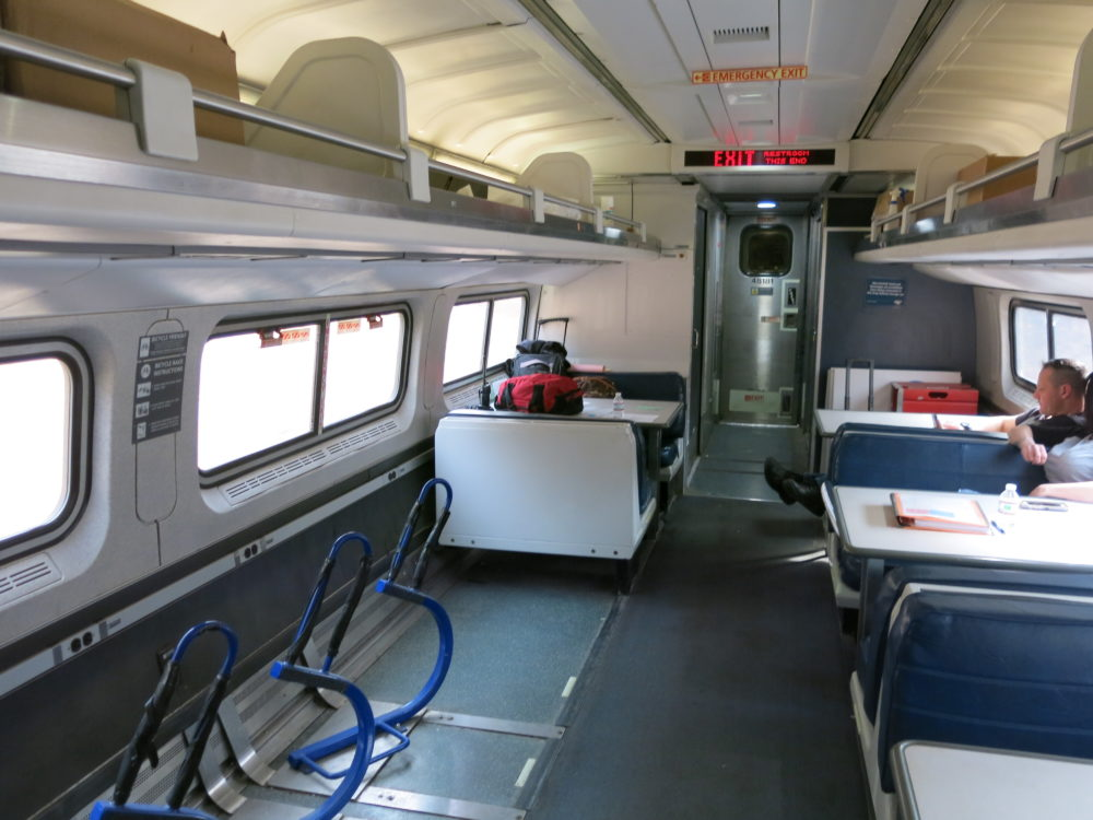 No Class In Business Class Trains Travel With Jim Loomis